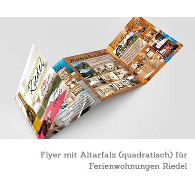 Flyer - Ferienwohnungen Riedel - Garmisch-Partenkirchen