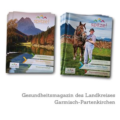 Gesundheitsmagazin des Landkreises Garmisch-Partenkirchen (36 Seiten)